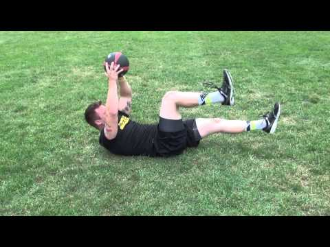 Football Ab Workout  to  Hit Harder  and  Run Faster