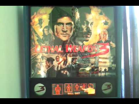 1992 Lethal Weapon 3 Pinball by Data East. Florida