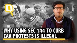Following Kashmir Playbook, Section 144 Being Used – Illegally – to Stifle Dissent | The Quint