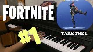 Fortnite Dances on Piano Part 1 | Piano Cover | PhantomK