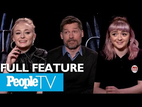 Game Of Thrones: The Cast On Their Favorite Scenes, First Days & More (FULL) | PeopleTV