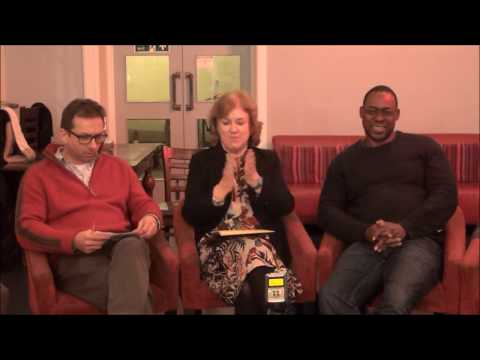 Q&A (2) _ Leicester/shire: City and County of Literature _ Bishop St, 13/12/17