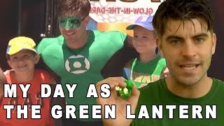 Costumed Character Documentary - Michael McCrudden As The Green Lantern