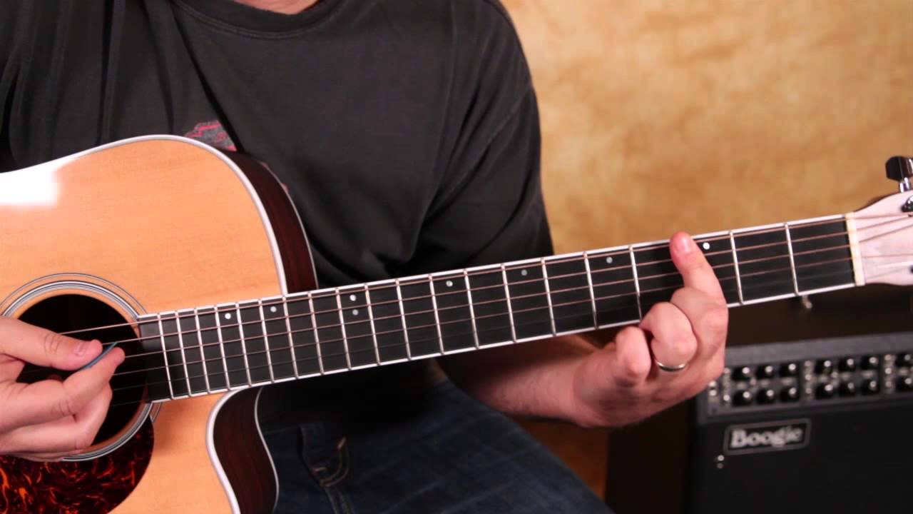 Bob Marley Waiting In Vain How To Play On Acoustic Guitar Easy