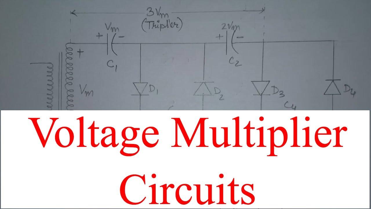 Half Wave Voltage Doubler Using Diodes Engineering Tutorial