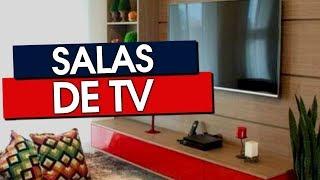 50 SALAS DE TV DECORADAS COM CAPRICHO