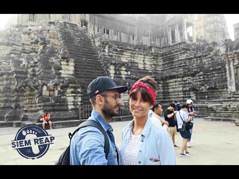 Камбоджа 2017.  Невероятное место.  Ангкор Ват.  Храм.  Кхмеры.  Монахи .