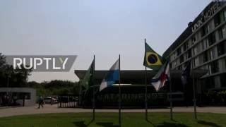 Brazil: US swimmers face questioning after alleged Rio 'robbery' brawl