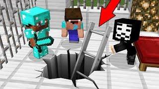Minecraft Battle: NOOB vs PRO vs HACKER: ESCAPE FROM BABY PRISON CHALLENGE / Funny Animation