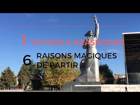 6 raisons magiques de voyager à Krasnodar, en Russie