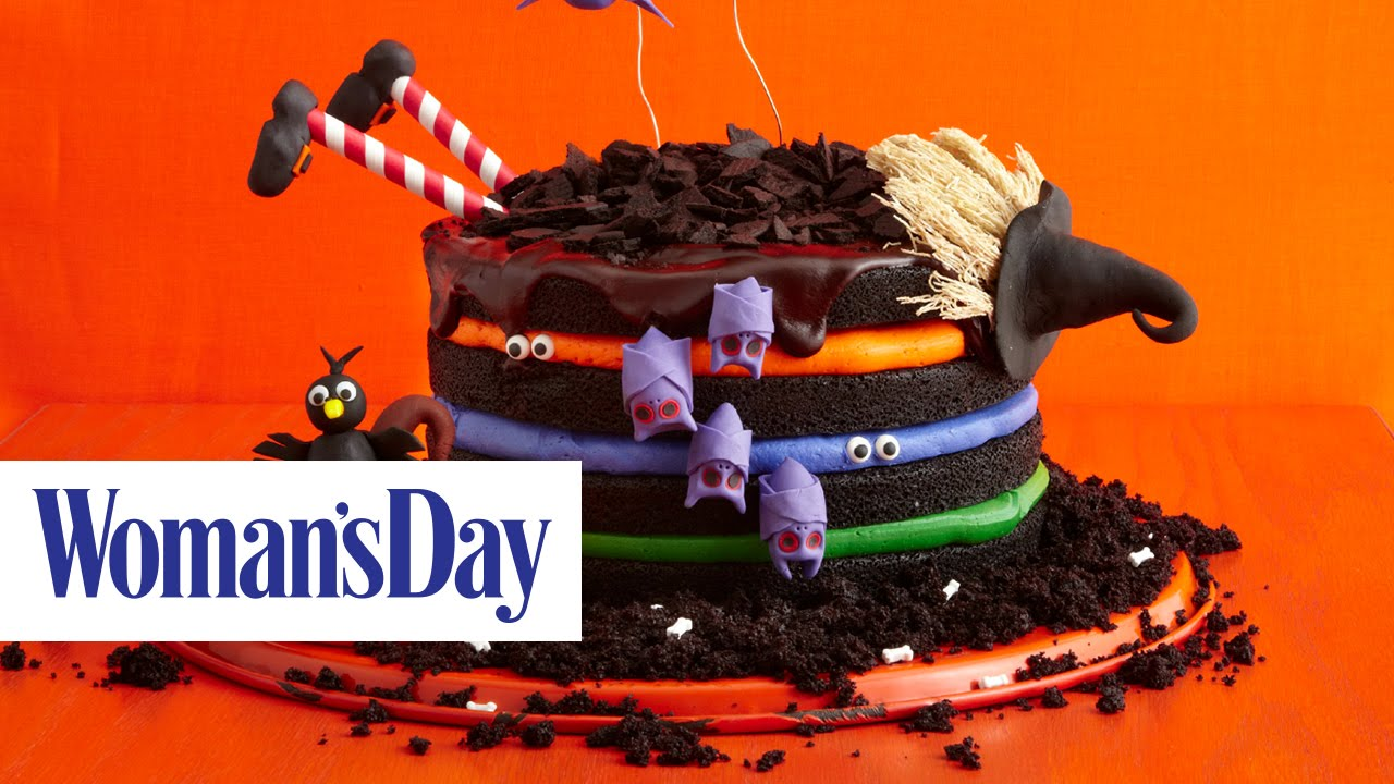 13 Creepy, Creative Halloween Cake Ideas | Woman's Day - YouTube