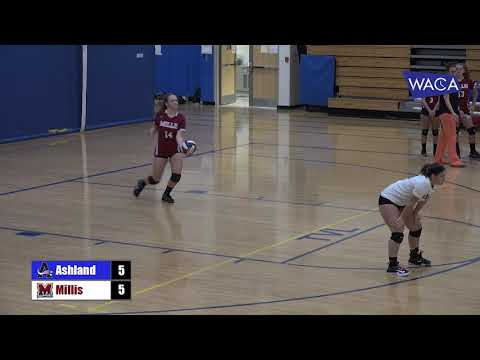 AHS Volleyball v Millis Oct 4 2017