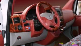 Переоборудование микроавтобуса Sprinter Mercedes красный салон(, 2017-06-20T14:07:34.000Z)