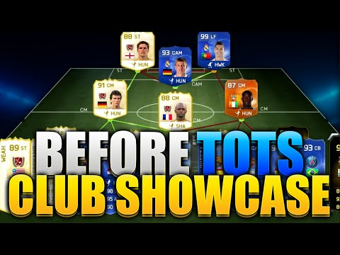 BEFORE TOTS CLUB TOUR CARDS NOT SELLING!!! FIFA 15 ULTIMATE TEAM