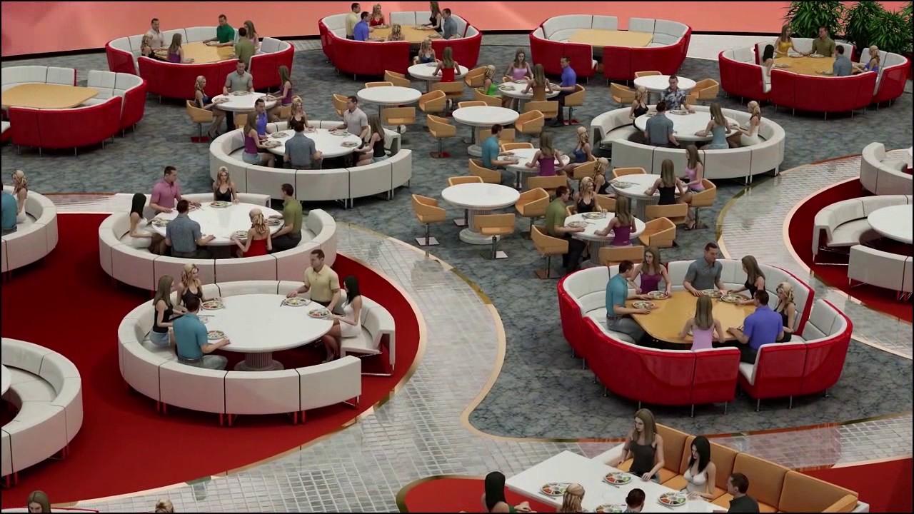 Amazing Future Generation Fully Automated Restaurant
