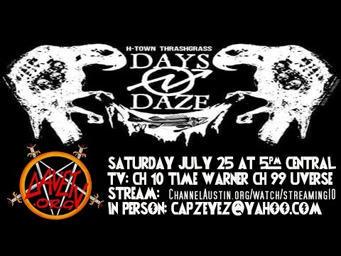 DAYS N DAZE on DaveTV #32 July 25, 2015