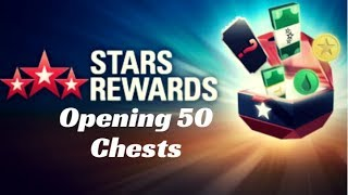 Opening 50 Pokerstars Chests