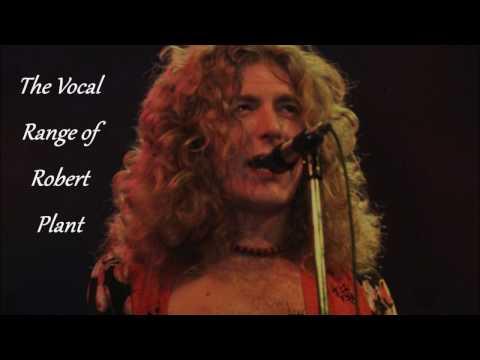 The Vocal Range of Robert Plant -- G2-C♯6