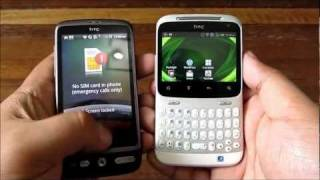 HTC Chacha Unboxing - QWERTY Android With Facebook Button