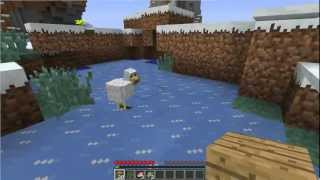 Let's Play Minecraft With My Girlfriend: Episode 1 - DONT KILL THAT PIG!
