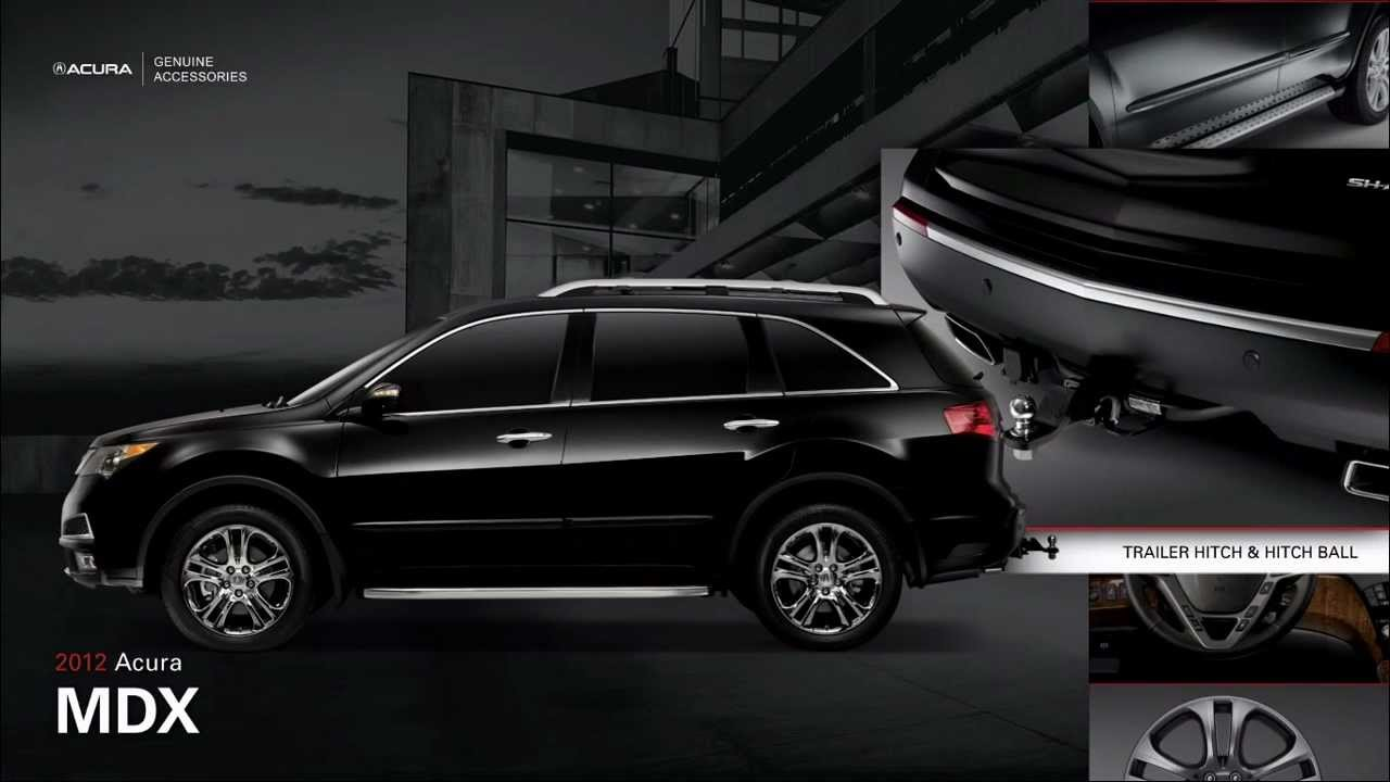 2012 Acura MDX Accessories - YouTube