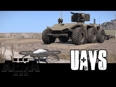 ArmA 3 UAVs - First Look, Tutorial and Overview