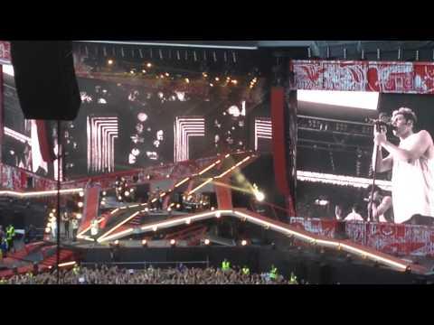 One Direction, half concert - June 16th 2014, Copenhagen