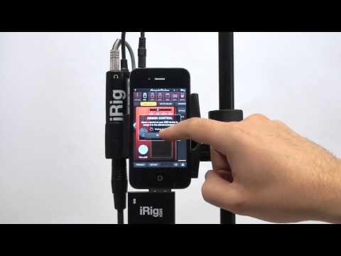 MIDI Control In AmpliTube 2.5 For IPhone, IPad, IPod Touch With IRig MIDI