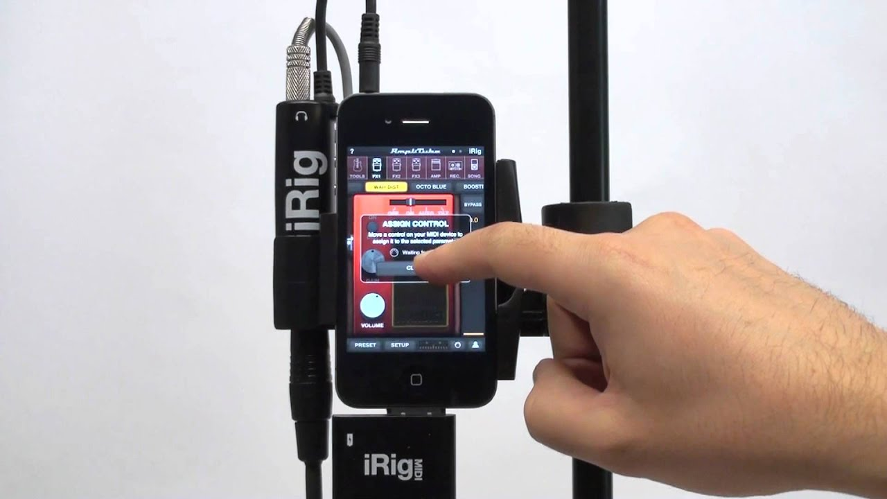 Midi Controller Iphone : midi control in amplitube 2 5 for iphone ipad ipod touch with irig midi youtube ~ Russianpoet.info Haus und Dekorationen