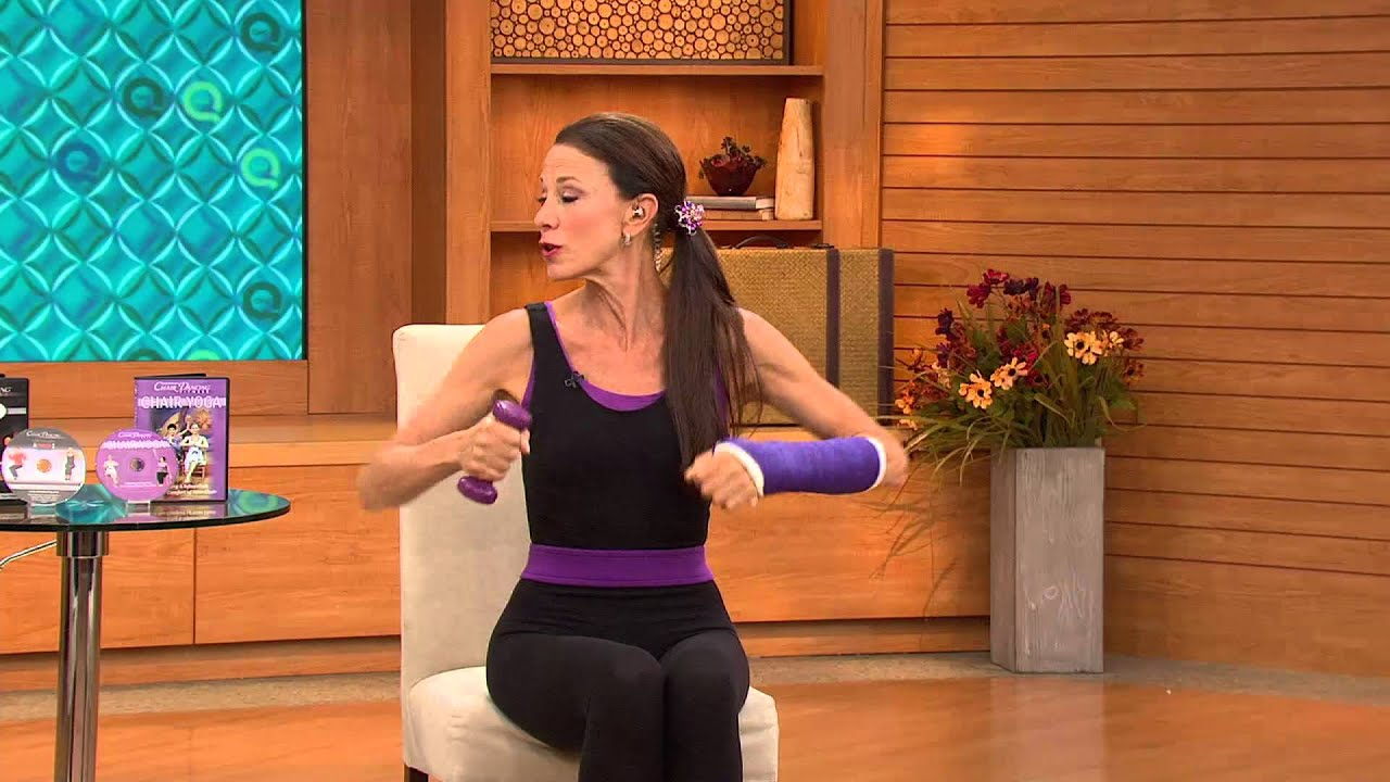 S2 Chair Dancing Fitness DVDs Sit Down and Tone Up with