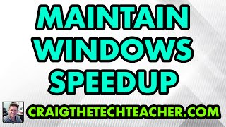 Maintain Windows XP Speed Up