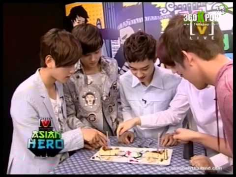 [Vietsub] 120809 EXO-K @ Channel [V] Asian Hero [EXO Team]