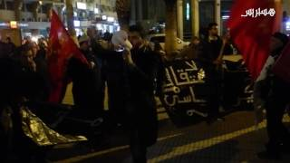 احتجاج 20 فبراير بخريبكة