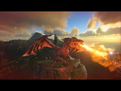 ARK: Survival Evolved How to Spawn/Tame A Dragon PC/Xbox/Ps4