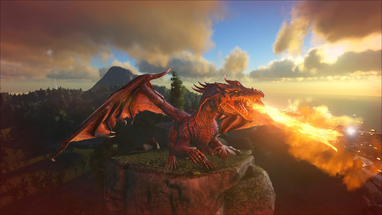 Ark survival evolved how to spawntame a dragon pcxboxps4 youtube malvernweather Gallery