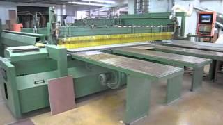 Holzma Panel Saw