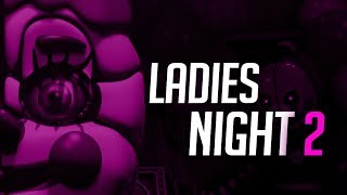 NOCHE DE CHICAS 2 ! LAS ANIMATRONICAS MAS DIFICILES | ULTIMATE CUSTOM NIGHT AL 100% FNAF
