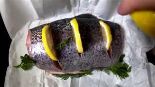 Как приготовить форель в духовке быстро и вкусно