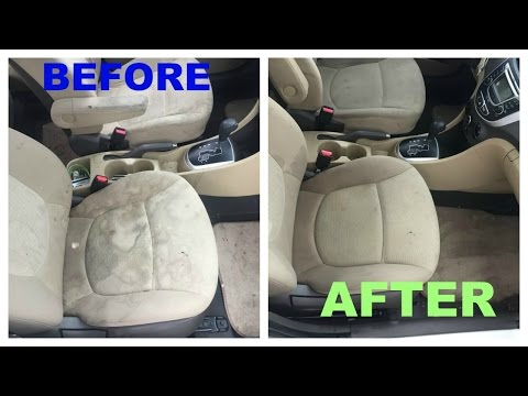 diy CAR UPHOLSTERY & CARPET DETAILING ft. Turtle Wax
