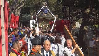 平成30年 平塚市浅間町<平塚弁財天社>例大祭 神輿発與(渡御)