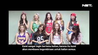 Entertainment News - SNSD menyapa Sone Indo di YouTube