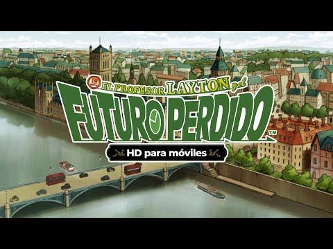 EL PROFESOR LAYTON y el FUTURO PERDIDO HD para móviles tráiler