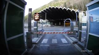 Mont Blanc tunnel entrance
