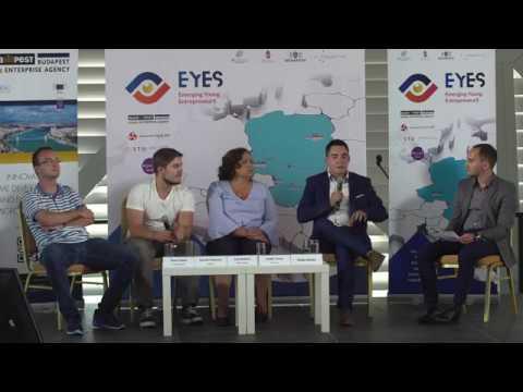 V4 startup good practices panel discussion - V4 EYES international startup conference