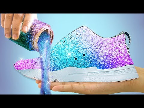 46 SPARKLING HACKS WITH SHOES