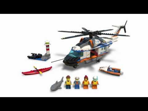 LEGO® City Coast Guard - 60166 Heavy-duty Rescue Helicopter