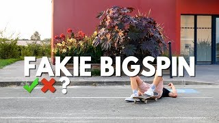 LE FAKIE BIGSPIN   SKATE