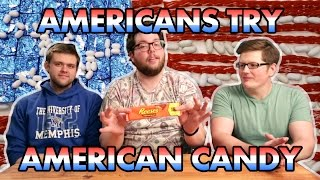 Americans Try American Candy - Dudes N Space Explores Why Everyone Hates US Snacks