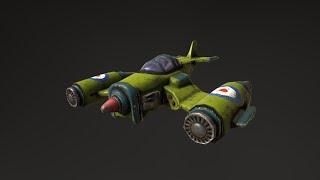 Rocket Jet Timelapse