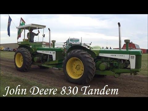 John Deere Tandem 830 Articulated